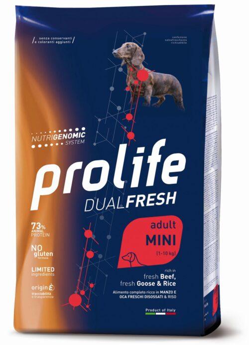 Dog Prolife Adult Mini Beef - Goose & Rice 2 kg e 7 kg