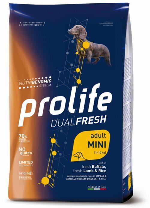 DOG PROLIFE ADULT LAMB:BUFFALO&RICE MINI 2 KG