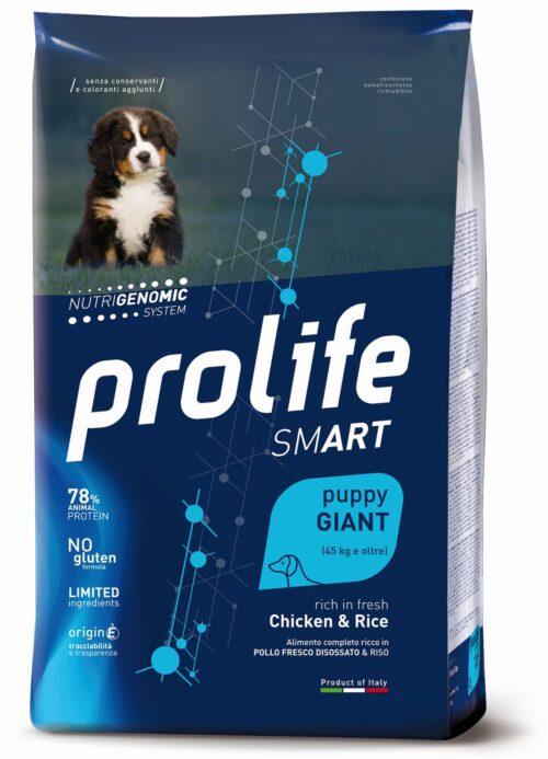 DOG PROLIFE PUPPY GIANT CHICKEN&RICE 10 KG