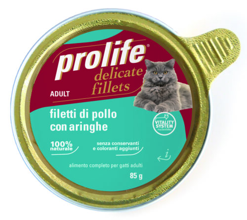 Cat Prolife Adult - Filetti Pollo con Aringhe 85 gr