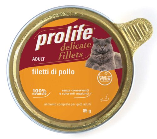 Cat Prolife Adult - Filetti di Pollo 85 gr