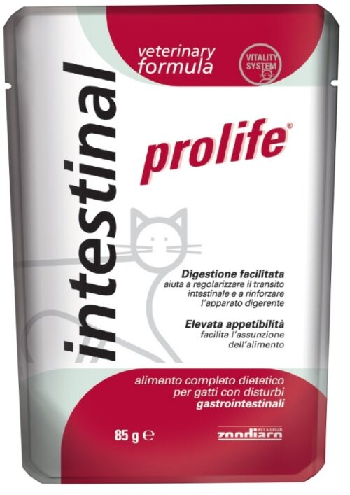 Cat Prolife Veterinary Formula Intestinal – busta 85 gr