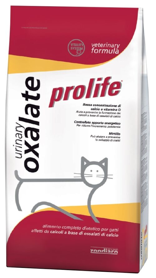 Cat Prolife Veterinary Formula Urinary Oxalate – 500 gr e 1,5 kg