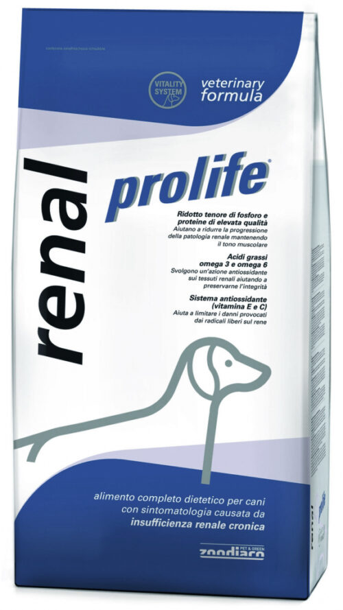 Dog Prolife Veterinary Formula Renal - 2 kg e 10 kg