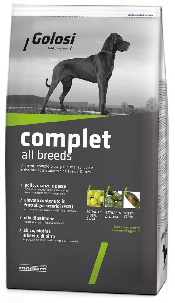Golosi Dog Complet all breeds
