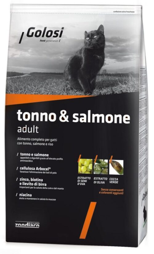 Golosi Cat Tonno & Salmone