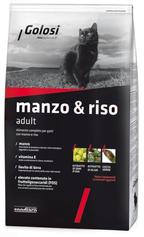 Golosi Cat Manzo & Riso