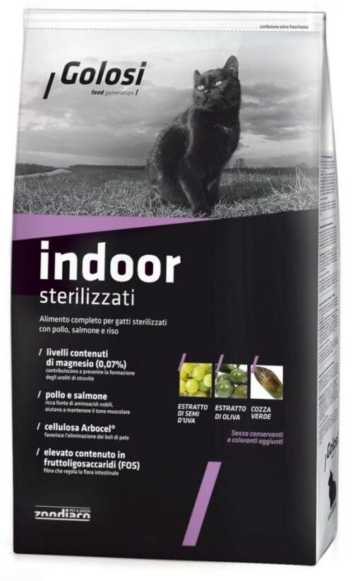 Golosi Cat Indoor - Sterilizzati