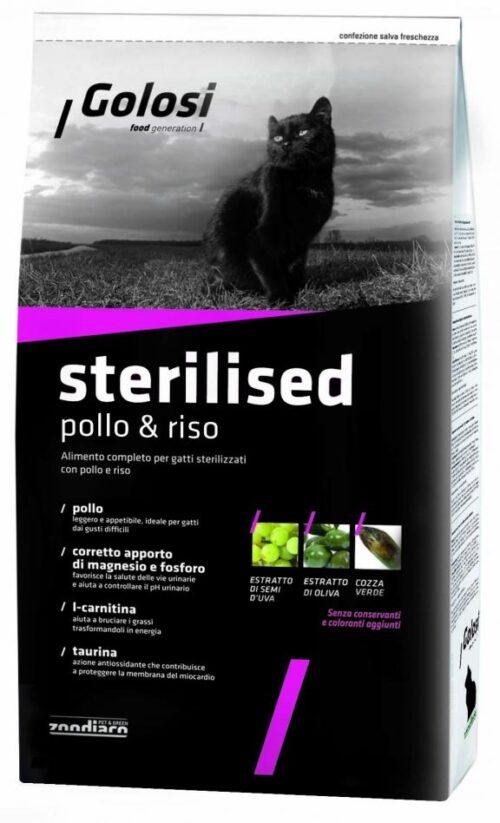 Golosi Cat Sterilised