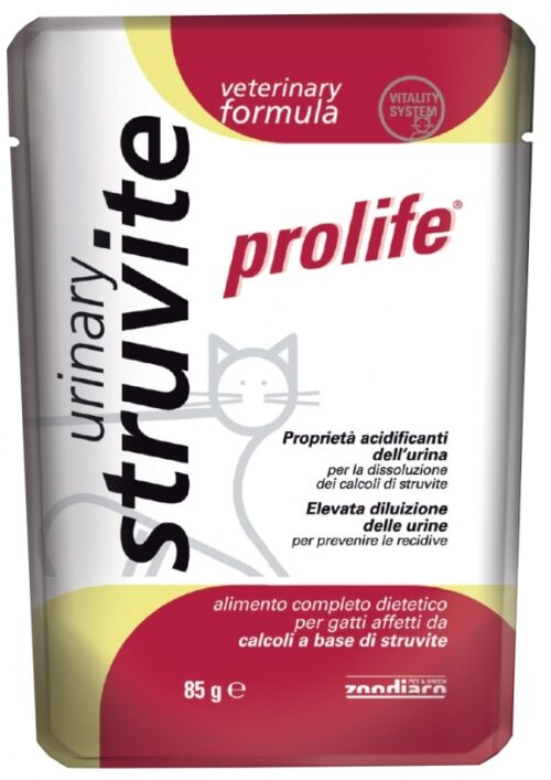 Cat Prolife Veterinary Formula Urinary Struvite – busta 85 gr