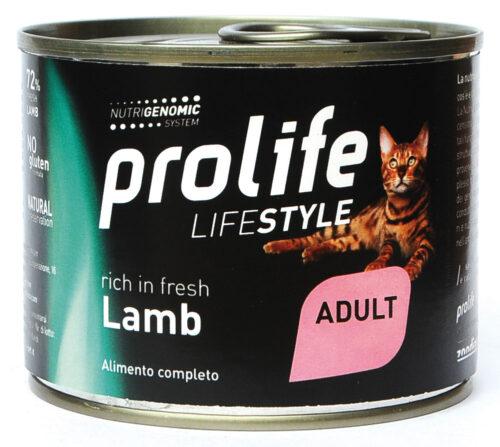 CAT-PROLIFE-WET-LIFESTYLE-ADULT-LAMB---200-GR