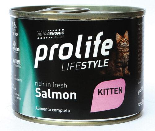 CAT PROLIFE WET LIFESTYLE KITTEN SALMON - 200 GR